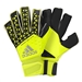 Adidas ACE Zones Ultimate Fingersave Goalkeeper Gloves (Solar Yellow/Semi Solar Yellow/Black)