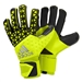 Adidas ACE Zones Pro Soccer Goalkeeper Gloves (Solar Yellow/Black)
