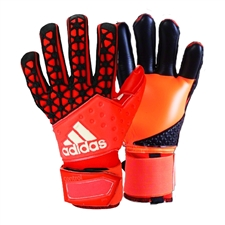 Adidas ACE Zones Pro Soccer Goalkeeper Gloves (Solar Red/Bright Orange/Black)