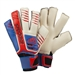 Adidas Predator Wrist Control Soccer Gloves (White/Bright Blue/Red)