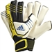 Adidas Predator Fingersave Allround Soccer Gloves (Black/Yellow)
