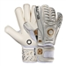 Elite Real GK Gloves (White/Black/Gold)
