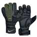 Nike Goalkeeper Confidence Soccer Glove (Black/Dark Army/Volt Silver)