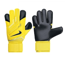 Nike Goalkeeper Vapor Grip3 Soccer Gloves (Yellow/Black/Black)