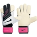 Nike Goalkeeper Grip3 Soccer Glove (White/Pink Flash/Black)