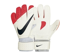 Nike Goalkeeper Premier SGT Soccer Glove (White/Total Crimson/Black)