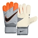 Nike Vapor Grip3 Soccer Goalkeeper Gloves (Grey/Total Orange)