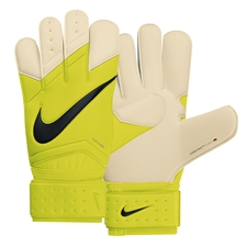 Nike Goalkeeper Vapor Grip3 Soccer Gloves (Volt/White/Black)