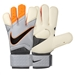 Nike Grip3 Soccer Goalkeeper Gloves (Grey/Total Orange)