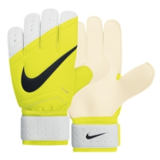 Nike Sentry Soccer Goalkeeper Gloves (Volt/White/Black)