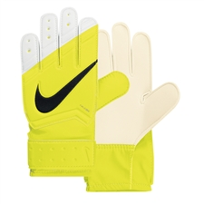 Nike Junior Grip Goalkeeper Gloves (Volt/White/Black)