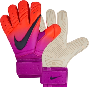 Nike Premier SGT Soccer Goalkeeper Glove (Total Crimson/Hyper Grape/Obsidian)