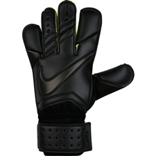 Nike Vapor Grip3 Soccer Goalkeeper Gloves (Black)
