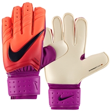 Nike Spyne Pro Soccer Goalkeeper Gloves (Total Crimson/Hyper Grape/Obsidian)