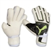 PUMA Powercat 1.12 Protect Soccer Glove (White/Black/Lime)