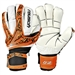 Reusch Keon Deluxe G2 Ortho-Tec Limited Soccer Gloves (Orange/Black)
