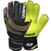 Reusch Toruck Pro G2 Ortho-Tec Soccer Goalkeeper Gloves (Black/Lime/Purple)