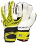 Reusch Keon Pro SG Ortho-Tec Youth Soccer Goalkeeper Gloves (Lime/Black)