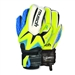 Reusch Waorani S1 LTD Ortho-Tec Youth Soccer Goalkeeper Gloves (Safety Yellow/Ocean Blue/Safety Yellow)