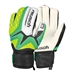 Reusch Waorani SG Plus Finger Support Junior Goalkeeper Gloves (Irish Green/Safety Yellow)