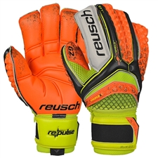 Reusch RE:PULSE Prime G2 Ortho-Tec GK Gloves (Orange/Yellow)