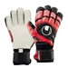 Uhlsport Eliminator Supersoft Bionik Goalkeeper Gloves (Red/Black/White)