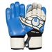 Uhlsport Eliminator SuperSoft Goalkeeper Gloves (White/Black/Energy Blue)