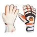 Uhlsport Cerberus Absolutgrip Fingerbett Soccer Gloves (White/Black/Orange)