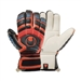 Uhlsport Cerberus AbsolutGrip Handbett Soccer Gloves (Black/Fluo Orange/Cyan)