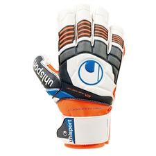 Uhlsport Eliminator Soft SF Junior Goalkeeper Gloves (White/Fluo Orange/Black)