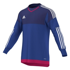 Adidas Top 15 Goalkeeper Jersey (Bold Blue/Amazon Purple/White/Bold Pink)