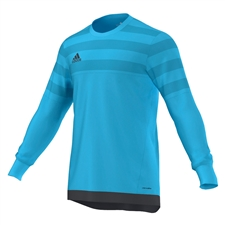 Adidas Entry 15 Goalkeeper Jersey (Bright Cyan/Dark Grey)