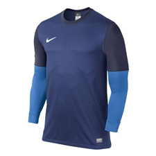 Nike Men's Club II Long Sleeve Goalkeeper Jersey (Deep Royal/Imperial Purple/White)