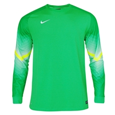 Nike Men's Goleiro Long Sleeve Goalkeeper Jersey (Hyper Verde/Volt/White)