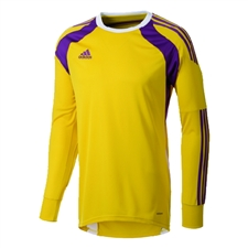Adidas Youth Onore 14 Goalkeeper Jersey (Tribe Yellow/Tribe Purple/White)