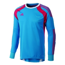 Adidas Youth Onore 14 Goalkeeper Jersey (Solar Blue/Vivid Berry/White)