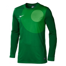 Nike Youth Park IV Long Sleeve Goalkeeper Jersey (Court Green/White)