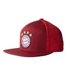 Adidas Bayern Munich '15-'16 Anthem Hat (FCB True Red/Craft Red/White)