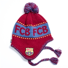 FC Barcelona Peruvian Replica Beanie (Dark Red/Blue)