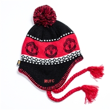 Manchester United Peruvian Replica Beanie (Red/Black)
