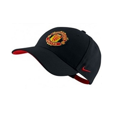 Nike Manchester United Core Hat (Black/Red)