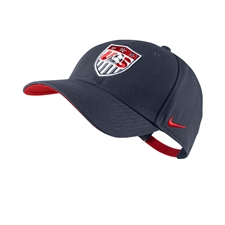 Nike USA 2014 Core Cap (Obsidian/Sport Red)