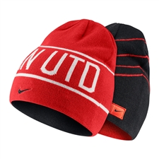 Nike Manchester United Soccer Knit Hat (Challenge Red/Black/White)