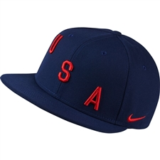 Nike USA True Hat (Binary Blue/Black/University Red)