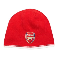 Puma Arsenal Reversible Soccer Beanie (High Risk Red/White)