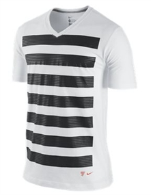 Nike Graphic Cristiano Ronaldo T-Shirt (White/Dark Grey Heather)