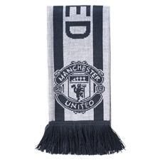 Adidas Manchester United FC Third Scarf (Bold Onix/White)
