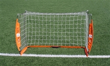 Bownet 3' x 5' Portable Soccer Goal (Orange/White)