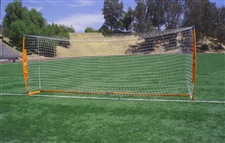 Bownet 6.5ft x 18ft Soccer Goal (Orange/White)