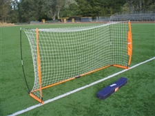 Bownet 6' x 12' Portable Soccer Goal (Orange/White)